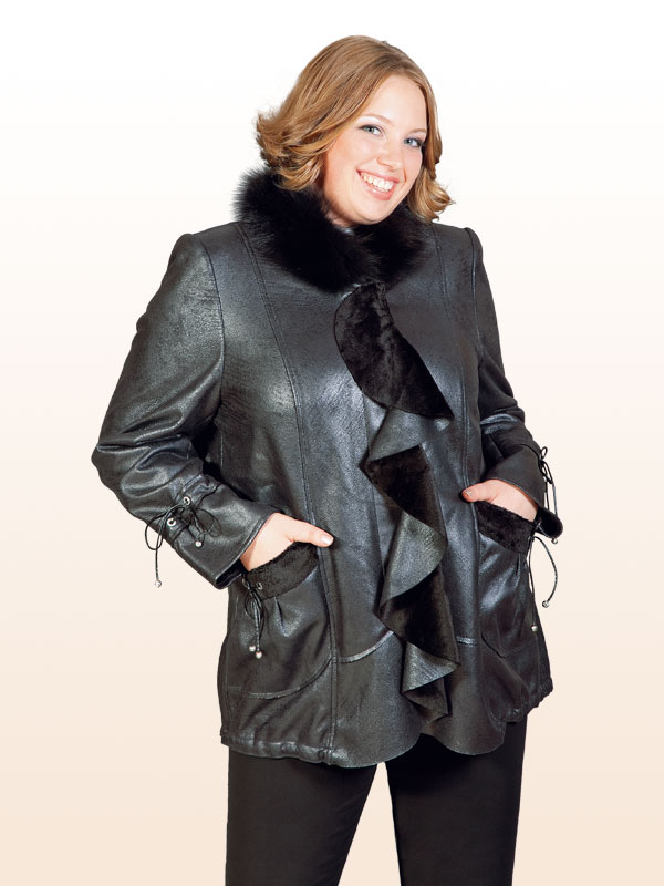 Верхняя Женская Одежда Зима 2018-2016 Цены Дублёнки И Кожаное Пальто